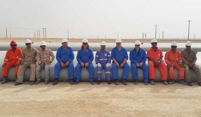 9 Winbags en Winsystem geleverd in Oman, Albers Alligator.